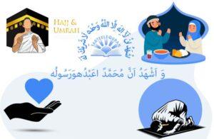 5 Pillars of Islam Shahadah Salah Zakah Siyam and Hajj |TarteeleQuran